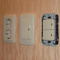 Монтаж, ремонт, замена выключателей Махачкала